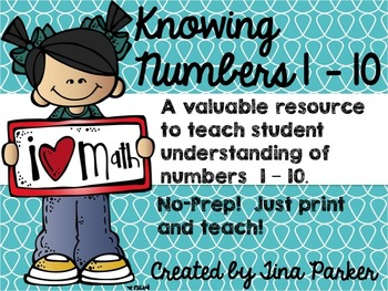 Knowing Numbers 1-10