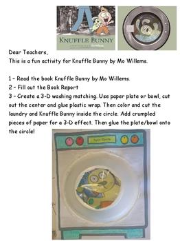 Knuffle Bunny Activity