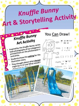 Knuffle Bunny Inspired Art and Storytelling Activity