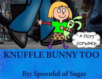 Knuffle Bunny Too (Story Companion)