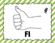 Kodaly / Curwen / Solfege Hand Sign Posters (Stripes, Boom