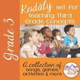 Kodály set for Teaching Third Grade Concepts {HUGE GROWING