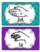 Kodaly/Solfege Hands Signs~ Colors coordinate with Color-C