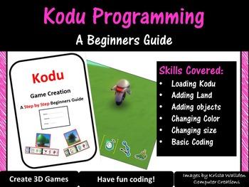 Kodu 3D Game Creation - Step by Step Guide (Basic Programm