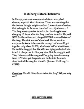 Kohlberg's Moral Dilemma