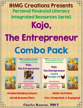 Kojo, The Entrepreneur-Combo Pack (ELA/Math/Personal Finan