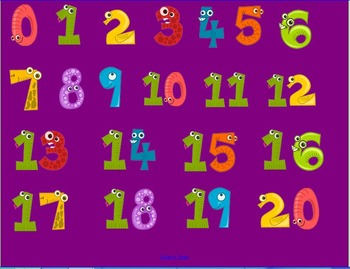 Koosh Ball Multiplication Facts Game (4's and 5's)