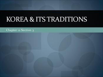Korea & its traditions