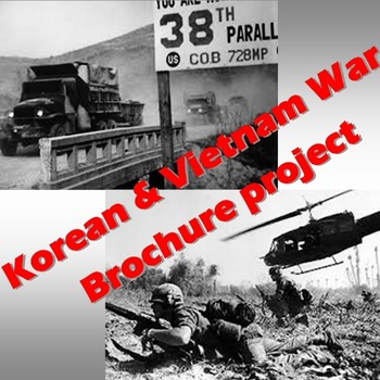 Korean & Vietnam War Brochure project
