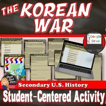 Korean War Student-Centered Activity (PDF & Google Docs)