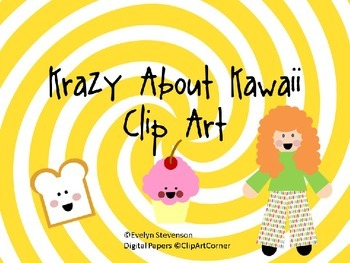 Krazy About Kawaii Clip Art
