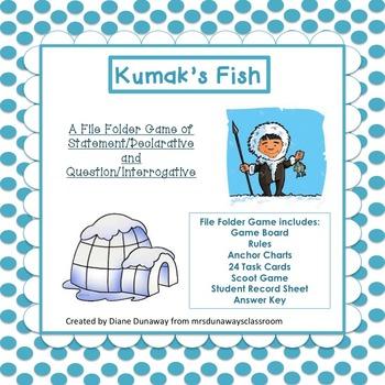 Kumak's Fish:  Statement / Declarative and Questions / Int