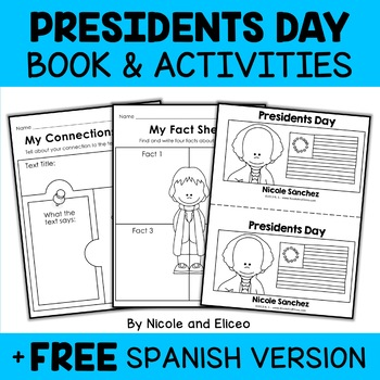Presidents Day Book Activities