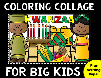 Kwanzaa Coloring for Big Kids