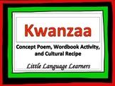 Kwanzaa-Concept Poem, Wordbook, and Cultural Recipe