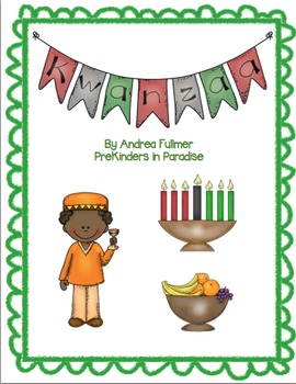 Kwanzaa Emergent Reader Pack