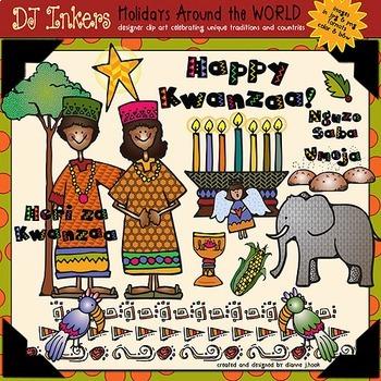 Kwanzaa: Holidays Around the World Clip Art