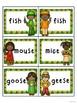 Kwanzaa Kids! Irregular Plural Noun Card Games