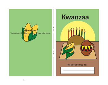 Kwanzaa Mini-Book