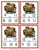 Kwanzaa Numbers In Between Clip Cards