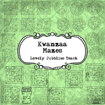 Kwanzaa Themed Mazes