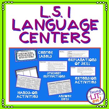 L.5.1 Language Centers Bundle