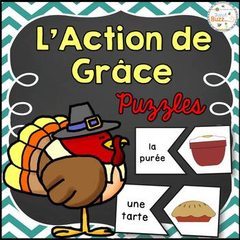 L'Action de grâce - French Thanksgiving - 30 puzzles