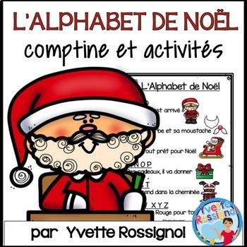 L'Alphabet de Noël (Comptine et activités) français, Frenc