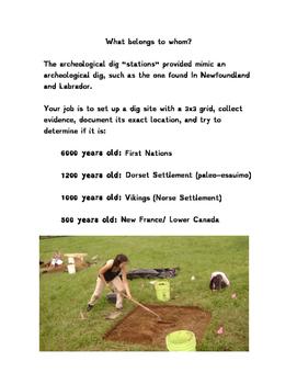 L'Anse Aux Meadows Archology Lesson