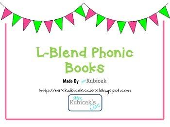 L Blend Phonics Books