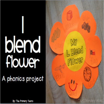 L Blend Word Work Craftivity - A Phonics Project