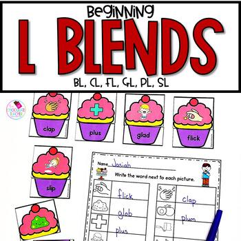 L Blends Beginning Consonant Blends