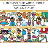 L Blends Clip Art Big Bundle