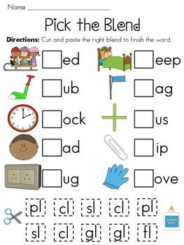 Speech Therapy with Miss Nicole: L blend words