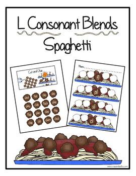 L Consonant Blends Spaghetti