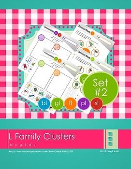 """L"" Family Clusters bl/cl/gl/fl/pl/sl  (#2 of 4 Phonemic A"