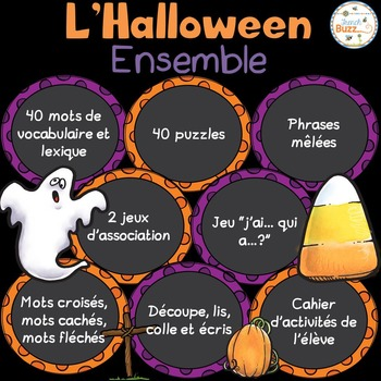 L'Halloween - Ensemble complet - French Halloween