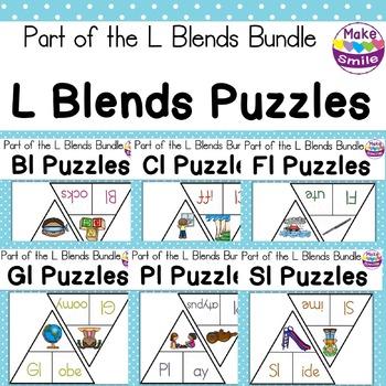 L Blends Puzzles