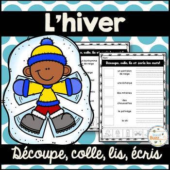 Hiver - French Winter - Découpe et colle
