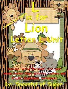 L is for Lion (Letter L Unit)