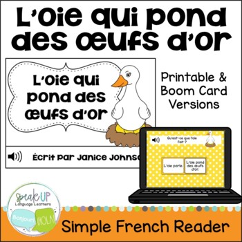 L'oie qui pond des œufs d'or Reader ~ Simplified French Go