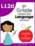 L1.2d: Spelling & L1.2e Phonemic Awareness