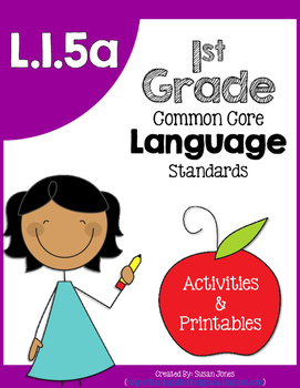 L1.5a: Categorizing vocabulary
