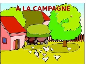 LA CAMPAGNE & LA FERME:  Vocab on Animals & Things found a