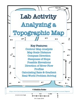 LAB - Analyzing a Topographic Map (w/ PowerPoint)
