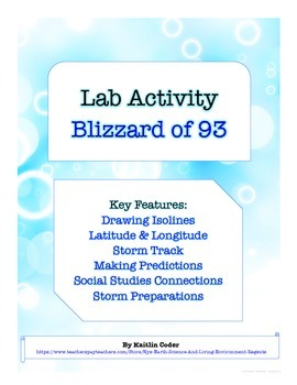LAB - Blizzard of 1993