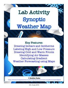 LAB - Synoptic Weather Maps (with PowerPoint)