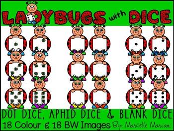 LADYBUG WITH DICE CLIP ART- SPRING DICE CLIP ART (36 IMAGES) CU