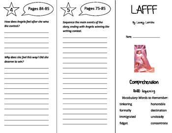 LAFFF Trifold - California Treasures 6th Grade Unit 1 Week 4