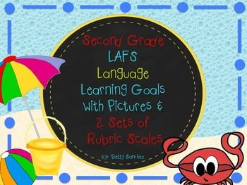 LAFS FLORIDA Gr 2 LANGUAGE Learning Goals with 2 SETS of R